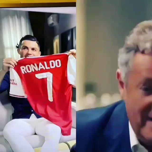 #رونالدو يؤكد انه كان قريب جداً من التوقيع مع #ارسنال.