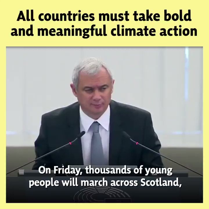 🌍 @AileenMcLeodSNP is attending next weeks UN Climate Action Summit as part of the EU delegation. 📣 We will take a clear message - this is a climate emergency and action is needed now, from the EU and beyond. Scotland will play our part, with world-leading climate targets.