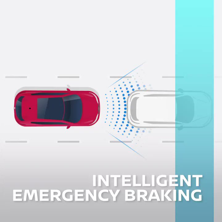 Prepared for the unexpected. Nissan Intelligent Emergency Braking immediately brakes when an obstruction or barrier is detected, making for a more confident and connected drive. #FutureFriday #Nissan #IntelligentMobility
