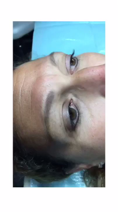 Before and after combo brow action.🎥🤩#browsbyL #combobrows #powderbrows #MakeupTutorial #brows #beauty #powderbrows #tattoo #inked #browtattoo #bakersfieldca