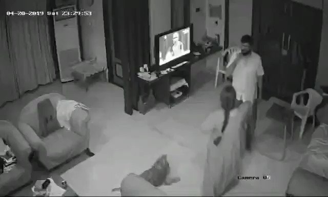 #Shocking : A retired High Court Justice Nooty Rammohan Rao was allegedly caught on camera while beating his daughter-in-law with the help of his wife and son for dowry. Didnt knew such cruel things happen in educated families too 🙄🙄🙄😟