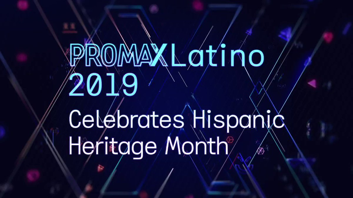 In honor of #HispanicHeritageMonth, we took a quick look back at some iconic shows - new and old. We are also proud to celebrate the best Latin America and US Hispanic work in entertainment marketing and design. Sign up here to join us: promax.tv/Latino19