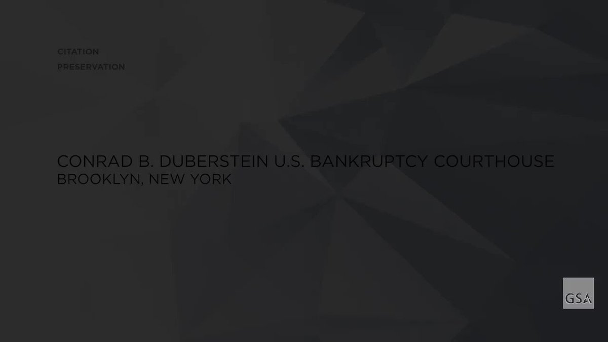 For #NationalNewYorkDay, learn more about GSA's preservation work on the historic Conrad B. Duberstein U.S. Bankruptcy Courthouse in #Brooklyn, New York. https://t.co/RECctt9FWT