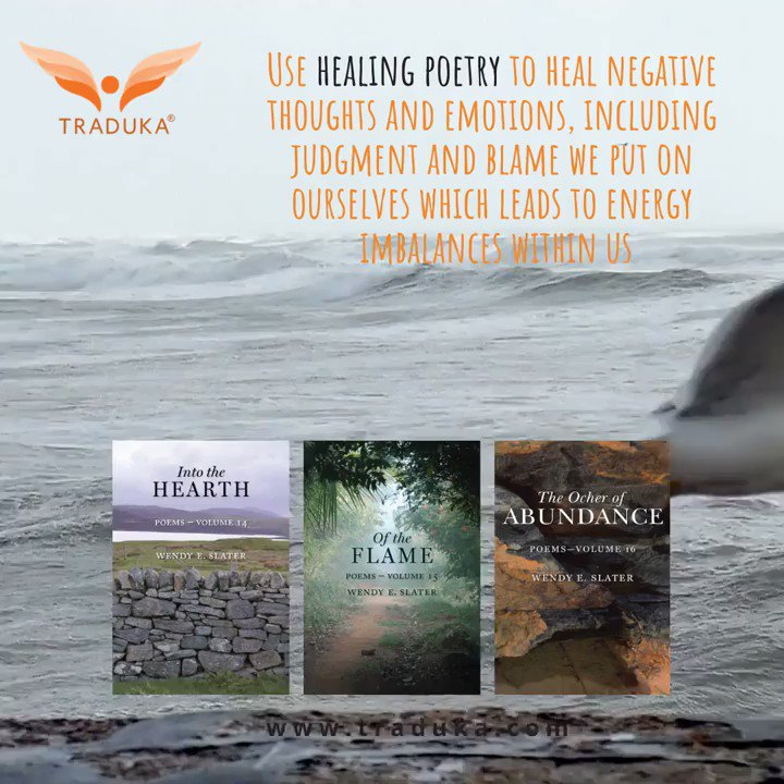 Read #healing #poetrybooks and resolve negative thoughts and emotions, which leads to energy imbalances within. The TRADUKA Wisdom #Poetry Series 🌱 http://amazon.com/author/wendyeslater …  #poetrybooks #mindbodyspirit #balance #innerhealing  #mindfulness #poetrycommunity  #Spirituality