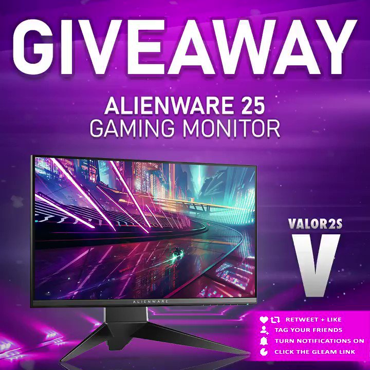 👀@Valor2S is launching a massive gaming monitor giveaway! Steps are below, GL! #ad Click here to enter: vast.link/Valor2sSept ⌨ Comment with #Valor2sSept 📲 Like & Retweet ❤ Follow @Valor2S & @VastGG