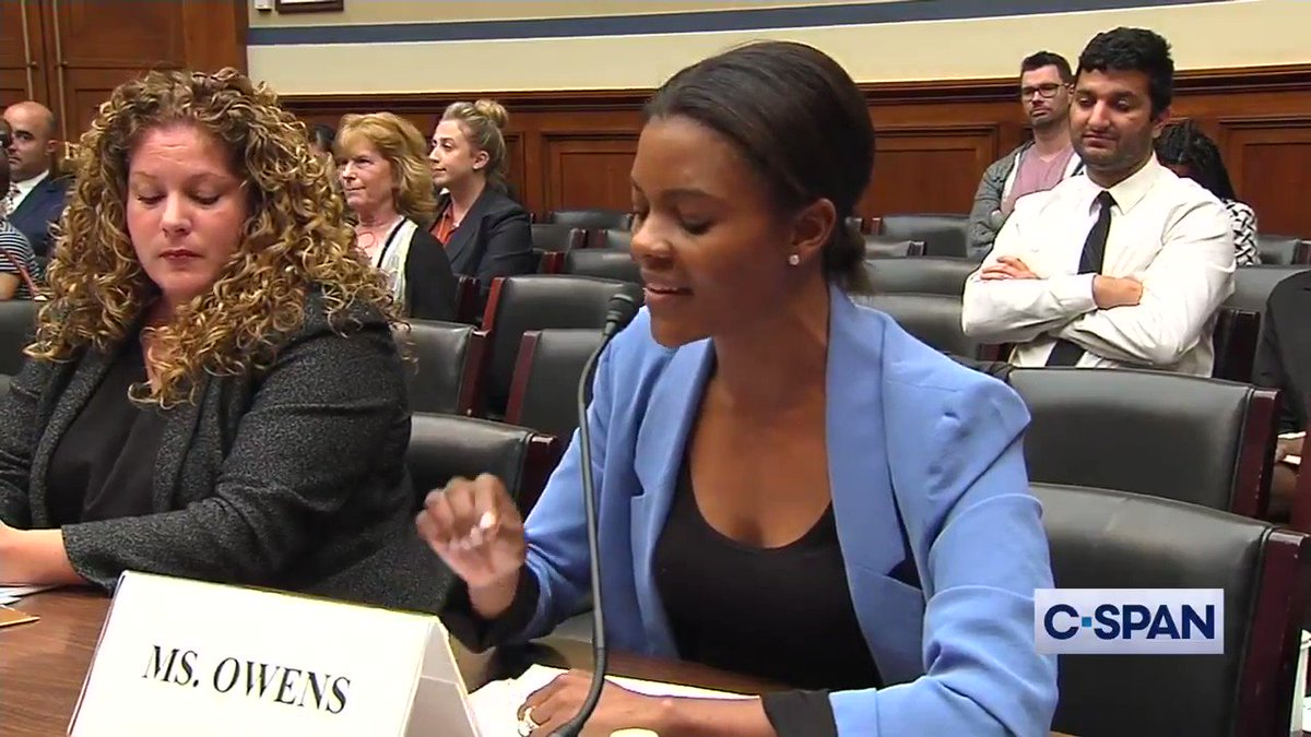 Today in Congress: Two white women explain to a black woman what the real threats to black people are. @RealCandaceO was having none of it. 🔥🔥🔥 👀