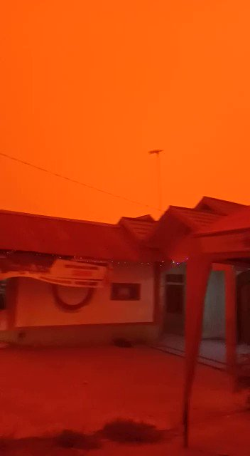 No, this isnt Mars. This is Indonesia at 1pm. Our rainforestS ARE burning, PLEASE HELP!!