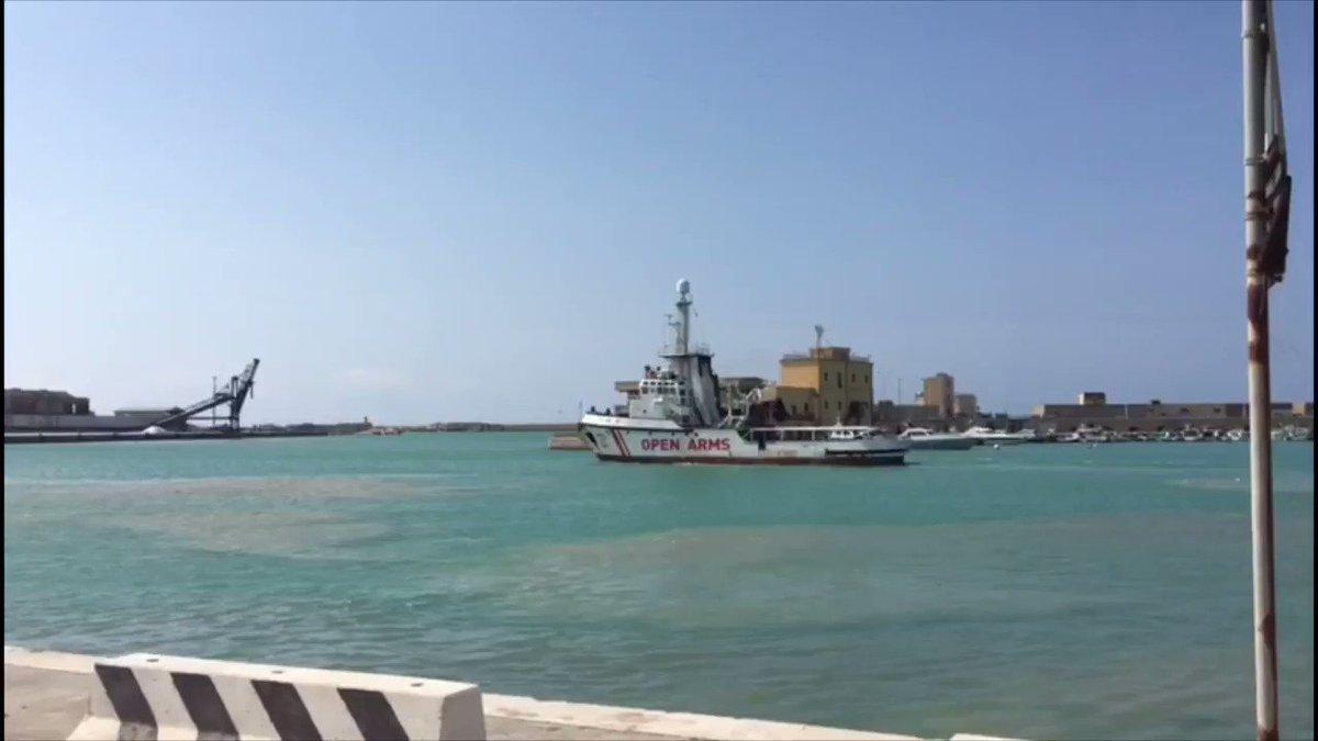 🔵#ULTIMAHORA Superadas las inspecciones técnicas #OpenArms pone rumbo a Nápoles para cambio de tripulación y para finalizar los últimos preparativos necesarios para la próxima misión #Med