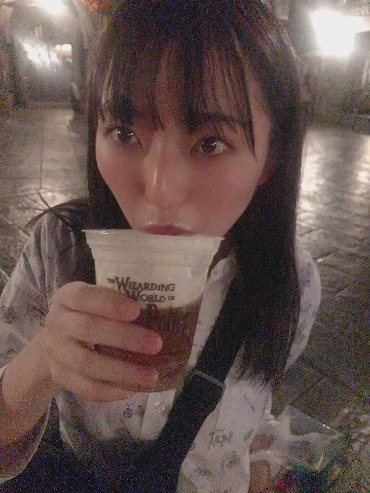 あとバタービール美味しかった🥺完飲した🥺もっかい飲みたい🥺#ユニバ #USJ #ユニバーサルスタジオジャパン #バタービール