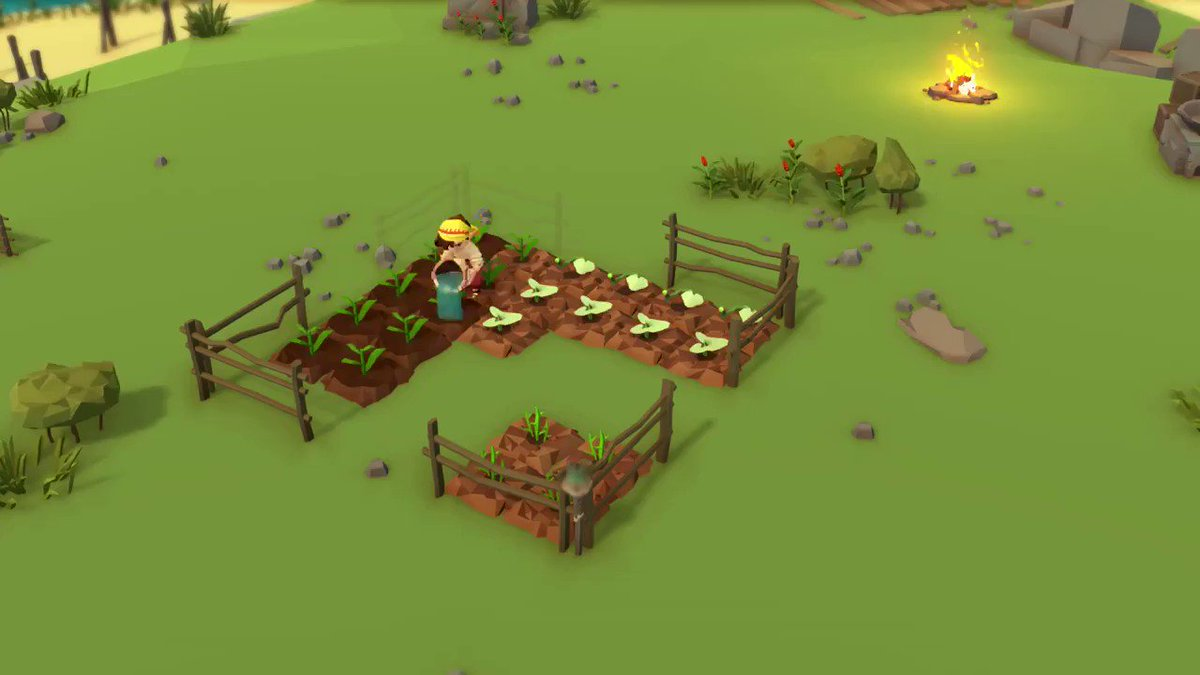Woah, I didnt realize Stranded Sails was already out as part of @AppleArcade. Shipwrecked players set up camp and establish a small farm with the ultimate goal of building a new ship. Its also coming to Steam, Switch, PS4 and Xbox One! #screenshotsaturday @rokapublish