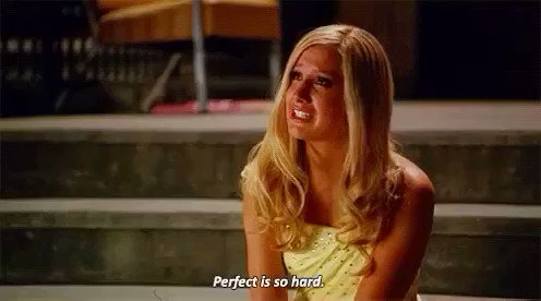 There's beauty in imperfection. #Sharpay