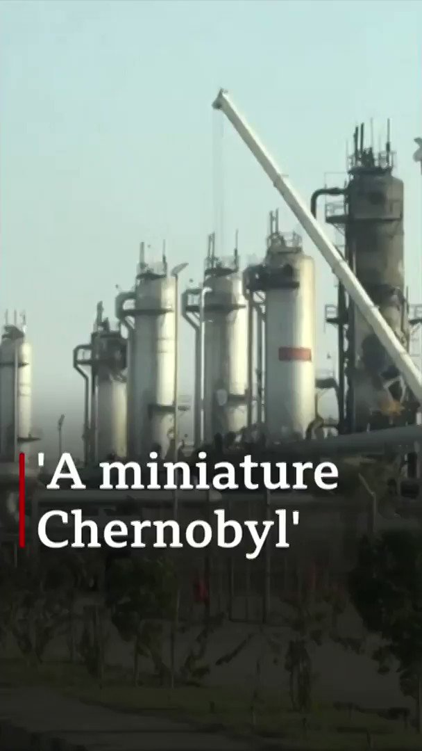 """It really looks like a sort of miniature version of Chernobyl""After attacks on two oil facilities in Saudi Arabia, the BBC's Frank Gardner has been to see the damage[tap to expand] http://bbc.in/2ADpxrr"