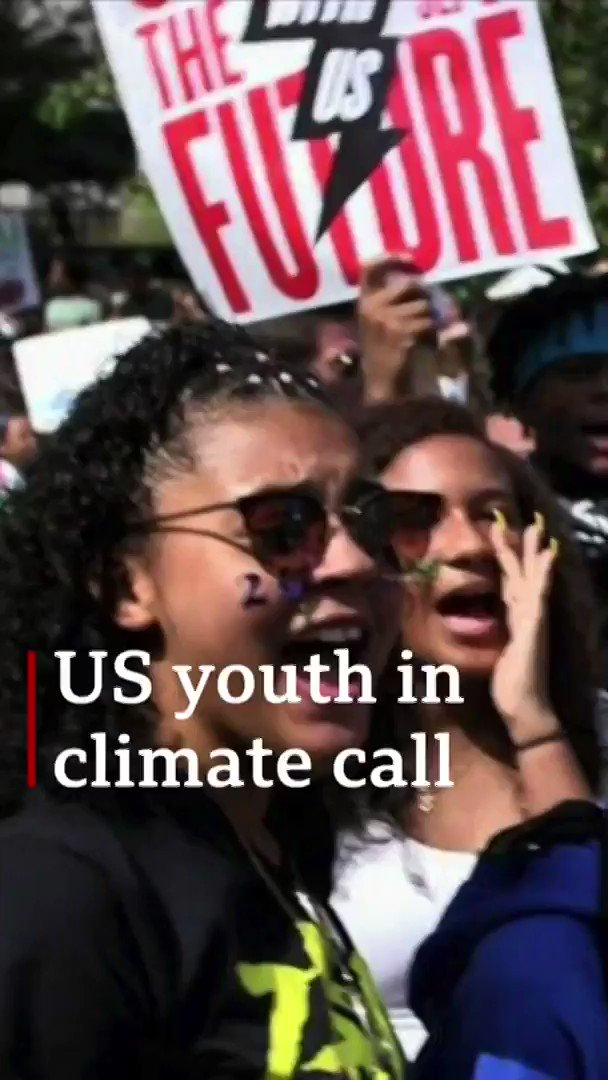 """It's not their future they're messing with, it's ours""Meet the young people challenging society to tackle climate change 🌎[tap to expand] http://bbc.in/2Ayxqyj"
