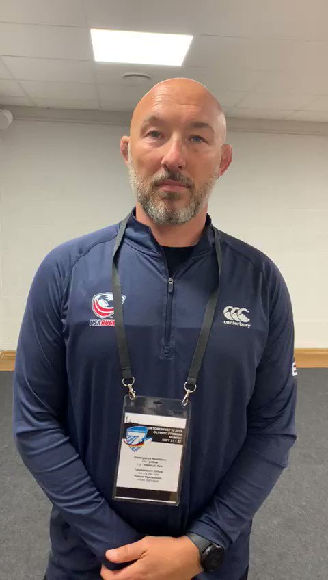 REACTION 📽️ | USA Men's Sevens Assistant Coach Phil Greening provides his thoughts on day one of #Oktoberfest7s #EaglesUnited | #USMNT7s