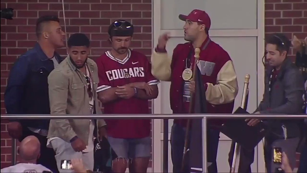 WATCH: Gardner Minshew makes a return Pullman to support Washington State