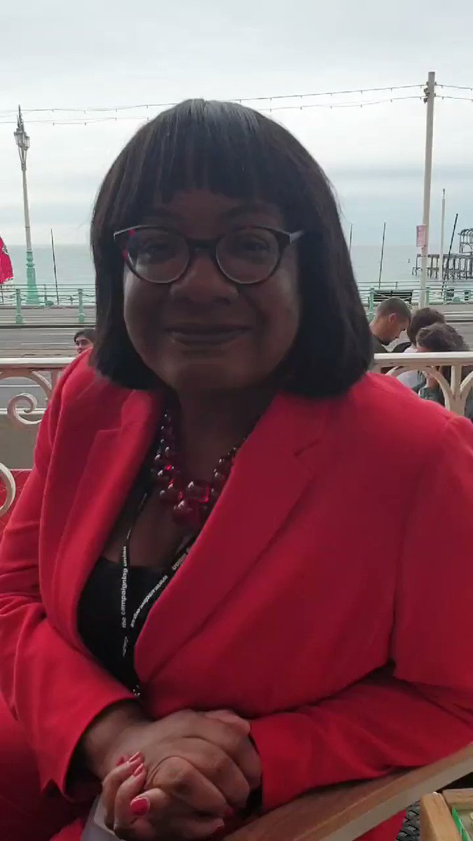 A little #Lab19 update for you all. Looking forward to delivering my speech this afternoon. It should be streamed on the news at 2.15pm 🌹✊🏾