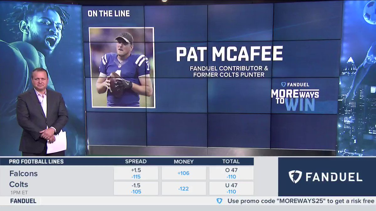 .@PatMcAfeeShow stopped by the show this morning to tell us about @FanDuels #ForTheBrand Fantasy Challenge 💪 Get in: FanDuel.com/ForTheBrand