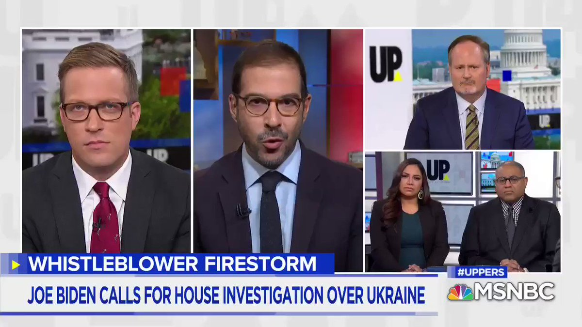 The Obama administration was encouraging the Ukrainians to investigate Burisma. On @UPonMSNBC, @adamentous and @TimOBrien discuss one investigation, into the companys co-founder, Mykola Zlochevsky.