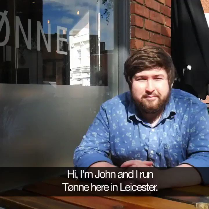 Here's why #tonne bar in #Leicester used our products and why it works for their business. DM to arrange a tasting for your bar (or wholesaler!).