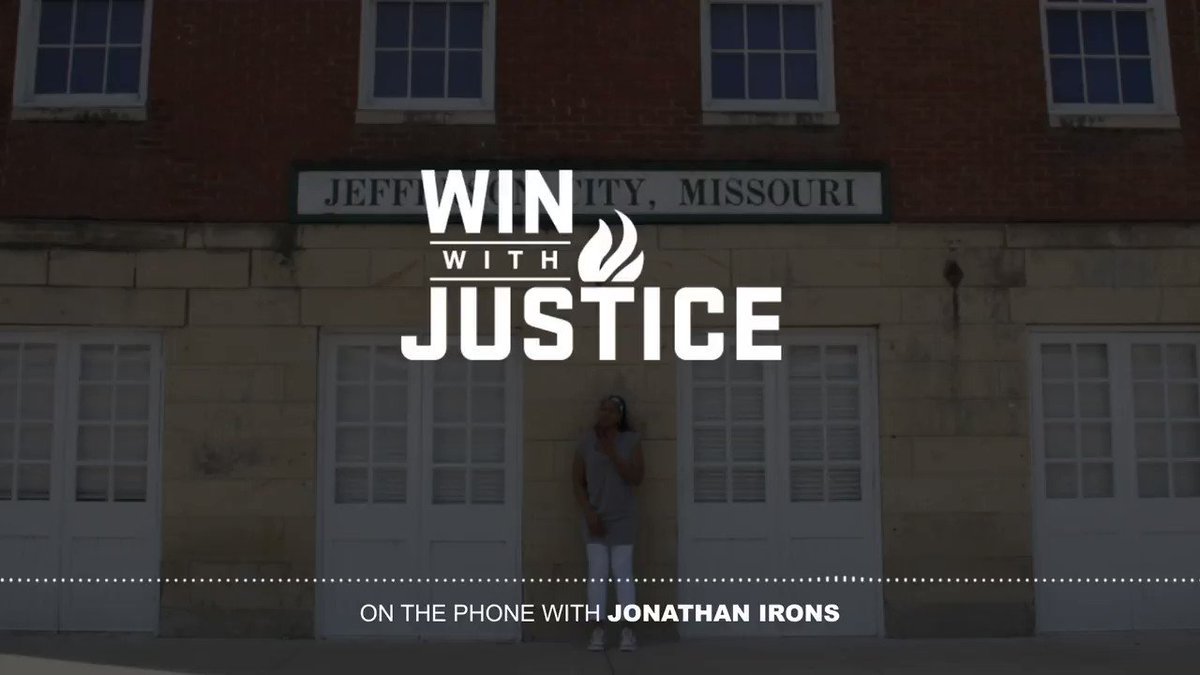 Gratitude from the man himself, #JonathanIrons. If you haven't already, please click the link below to support us in seeing to it that he has the right to a fair trial. #WinWithJustice #Athletes4Impact change.org/p/demand-a-fai…