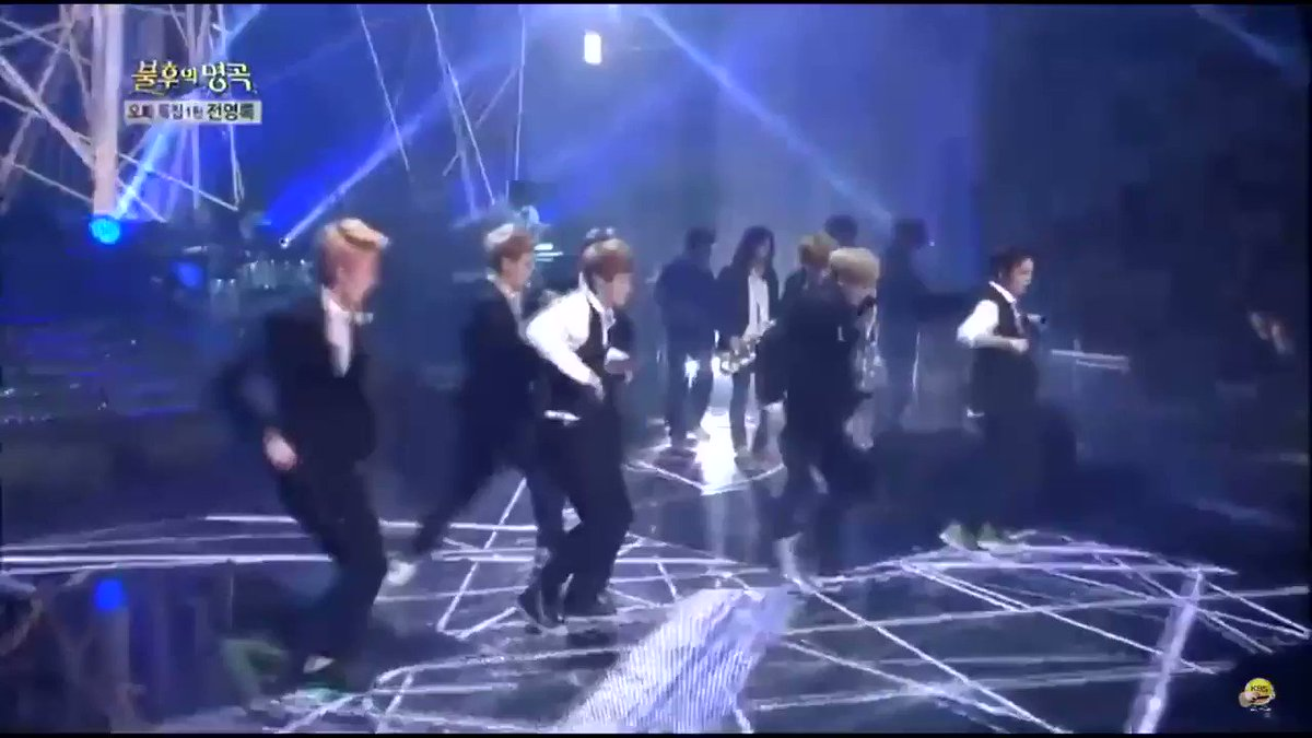 Replying to @poutybobohu: man rookie exo were just built different I'll never let this performance go