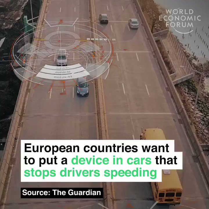 The #EU aims to fit #Automobiles with intelligent speed assistants by 2022 >>> @wef via @MikeQuindazzi >>> #AI #IoT #AutonomousVehicles #SelfDrivingCar #Robotics #4IR cc @evankirstel @LouisSerge @jblefevre60 @SpirosMargaris @sallyeaves @kuriharan    https://t.co/AJNr2kcwRc