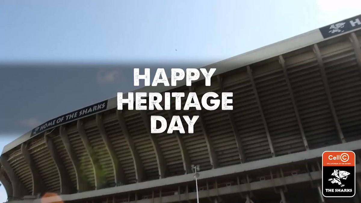#OurSharks wish all South African's a Happy Heritage Day as we celebrate being united through our unique cultures, rich heritage and diverse languages 🇿🇦 #OurSharksForever #HeritageDay