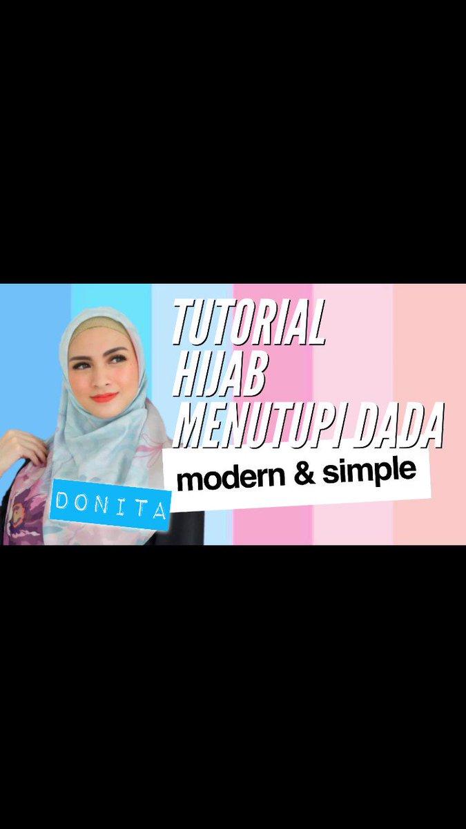 Hi.. aku mau share tutorial hijab..tutorial hijab daily menutupi dada, tetap unik modern dan simple. Video terbaru guys di DONITA ADI TV 😘 . Video lengkap klik https://youtu.be/bTuw2TnQKFI .  #donitaaditv #tutorialhijabdonita #hijabcincindonita