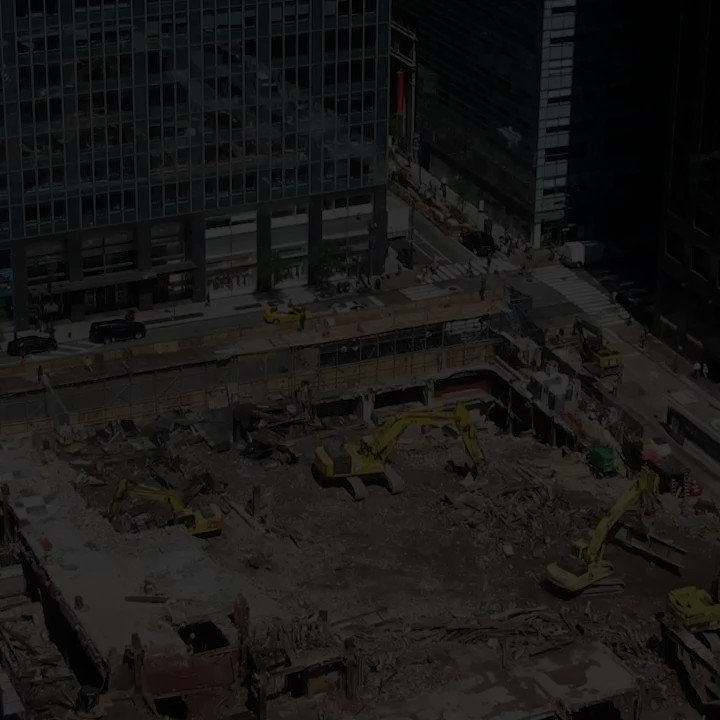 3 years of incredible progress captured in video: #OneVanderbilts rise leading to last weeks topping out, forever changing the New York City skyline.