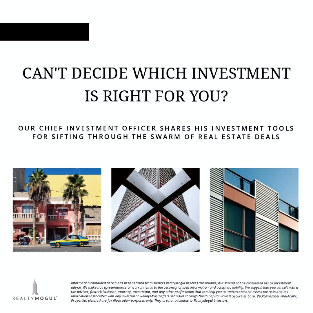 How do investors sift through all of the different opportunities to find the right investment for them? In part 1 in this new series, Chris Fraley, our Chief Investment Officer explains the economics of development, new supply, and rent growth. https://t.co/K9m9arYQKv