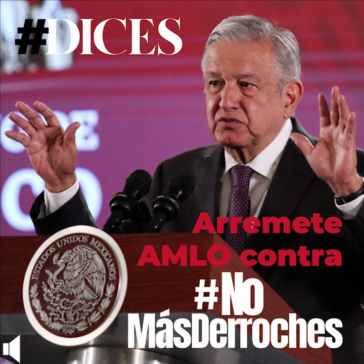 En @Coparmex respaldamos el trabajo de @MXvsCORRUPCION en favor de MX y reconocemos el valor civil de @ClaudioXGG, @amparocasar y todo su equipo. Lamentamos las agresiones verbales del Presidente @lopezobrador_ en contra organizaciones de la sociedad civil. #NoMasDerroches #Dices