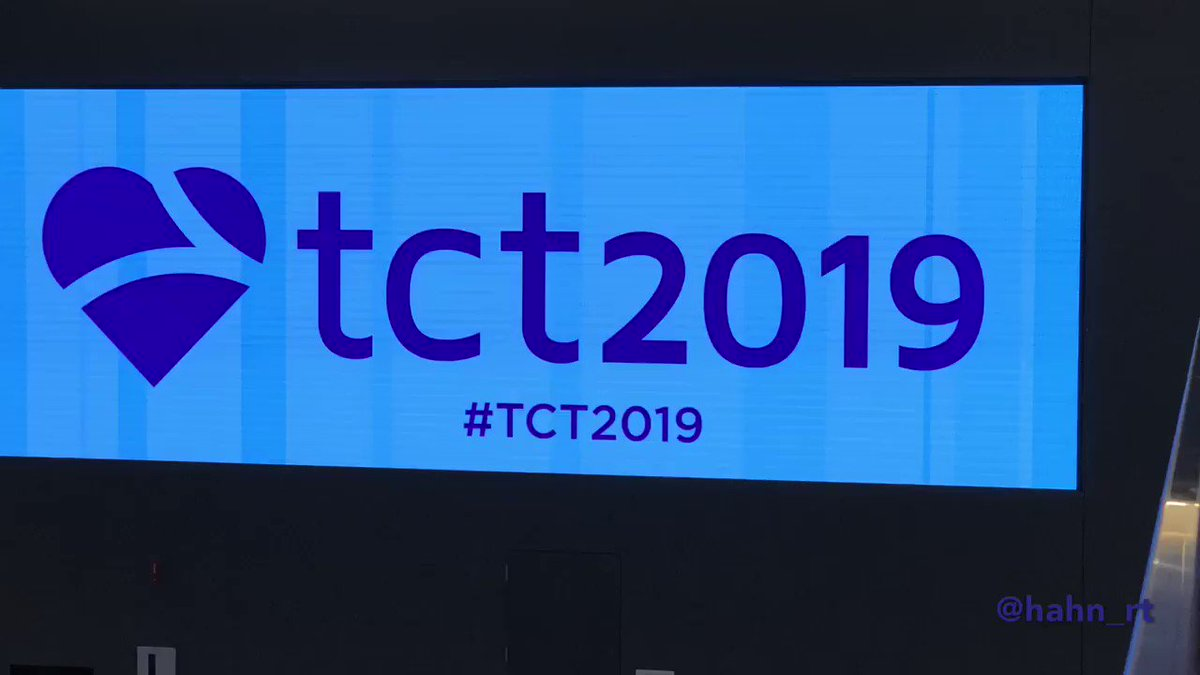 It all starts today!! #TCT2019 @CMichaelGibson @GreggWStone @ajaykirtane @ACCinTouch @JACCJournals