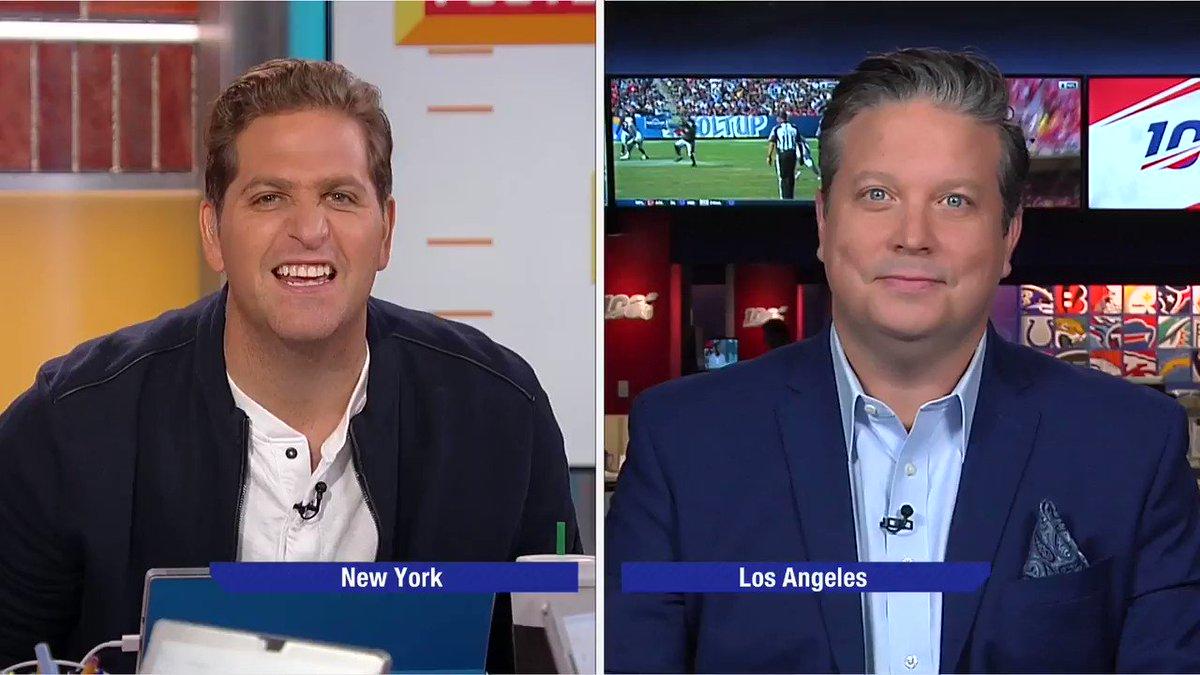 Talkin' Iggles and Power Rankings on @gmfb. Catch the damn football, guys.