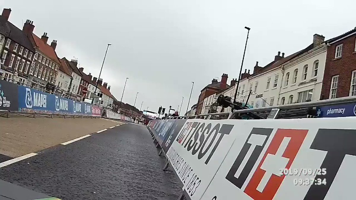 Managed a sneaky ride down the start of the TT course this morning in Northallerton although I wasn't brave enough to chance using the ramp.