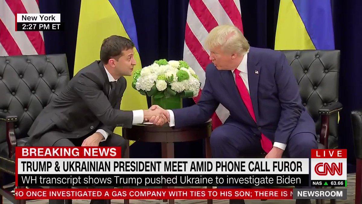 """Ukrainian President Zelensky: """"I think you read everything… good phone call…nobody pushed me"""" youtu.be/sYPELyBzxMs"""