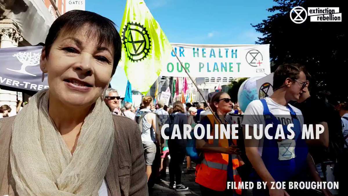 There's the Govt version of climate action – do next to nothing for 30 years And there's the climate action that people are demanding Join the @ExtinctionR uprising in London on Oct 7th