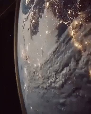 A flyby of Earth from the International Space Station. Credit: NASA 🌍🌎🌏