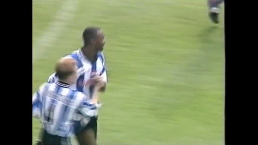 FORGOTTEN GOAL: A trademark shitpinger from Stan Staunton vs Sheffield Wednesday 22 years ago today. Left foot like a traction engine.