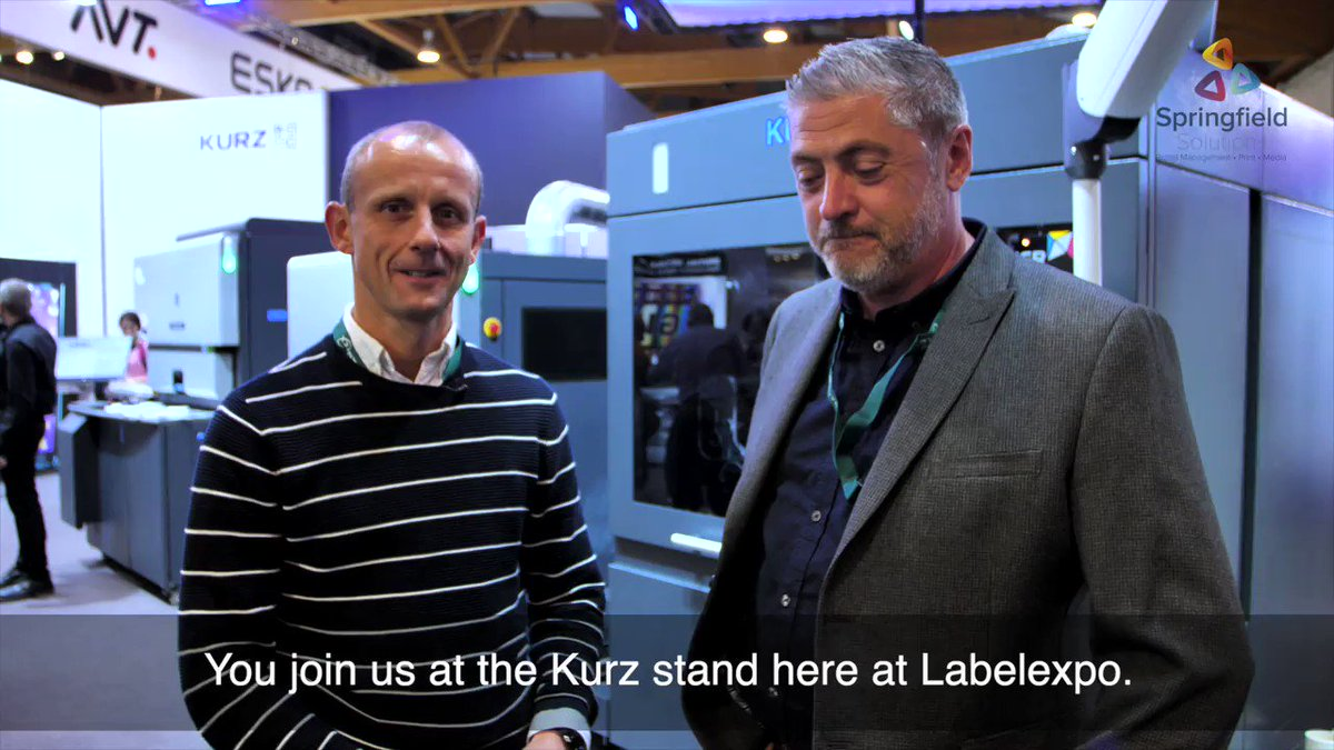 Image for the Tweet beginning: @Labelexpo Vlog 2: @mattdass and