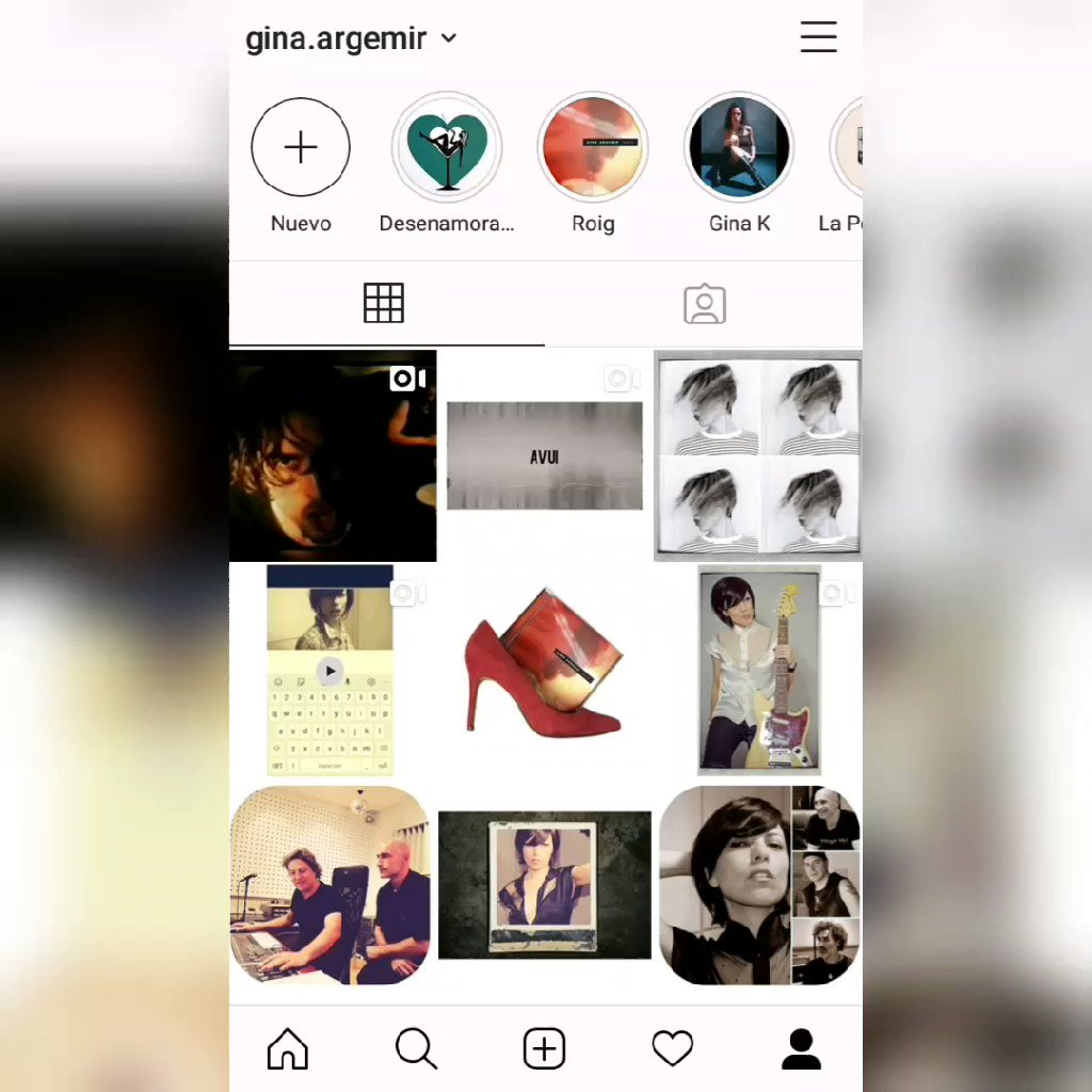 Image for the Tweet beginning: Site a Instagram @gina.argemir Passes a veure'm?