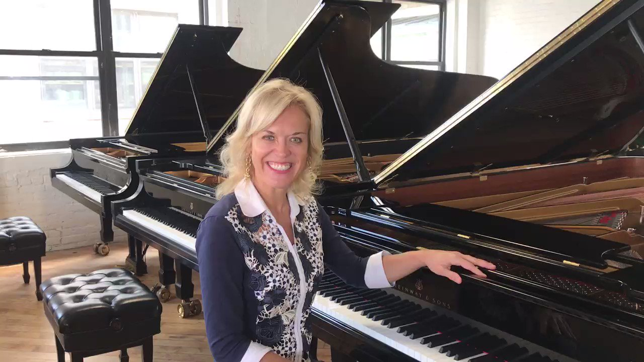 I'm at the @SteinwayAndSons factory choosing pianos for our 2019 @OlgaKernComp which takes place in Albuquerque next month. I'm so grateful to Steinway for providing these gorgeous instruments! #OKIPC2019