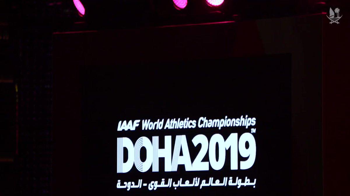 نرحب بالجميع في بطولة العالم لألعاب القوى الدوحة ٢٠١٩