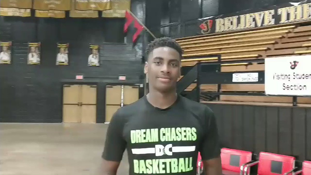 23 Rashad Marshall (6-7 F, Annie Camp Jr. High) talks about difficulty of his 9th-grade team matching up Fri in scrimmage vs. Jonesboro HS ... Marshall flashes high-major stuff already, & he said hes expected to grow to 6-9 or 6-10 ... look for him to play up later this season