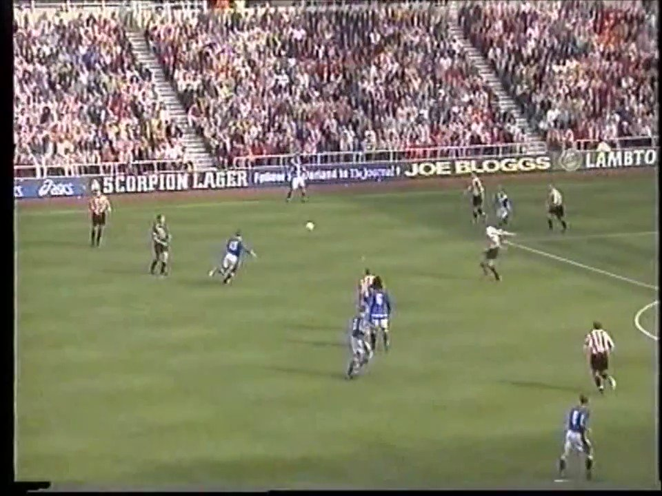 22 years ago today Emerson did this at the Stadium of Light. Hellfire. When he felt like turning the engine on, he was a Rolls Royce of a player.