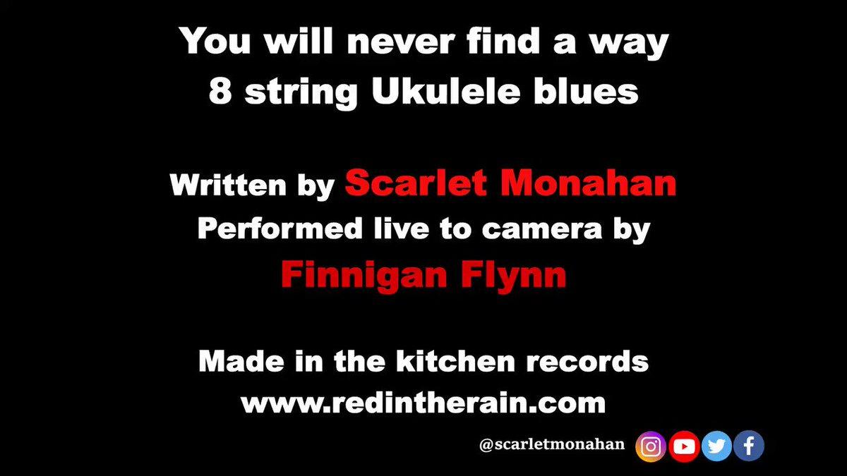 The Ukulele blues..  #freemusic #music #live #unplugged #uncut #livemusic #video #musicvideo #musicvideos #scarletmonahan #singer #songwriter #poetry #ukulele #acoustic #radio #sound #soundcloud #ukulele #blues #musician #viralvideo 4