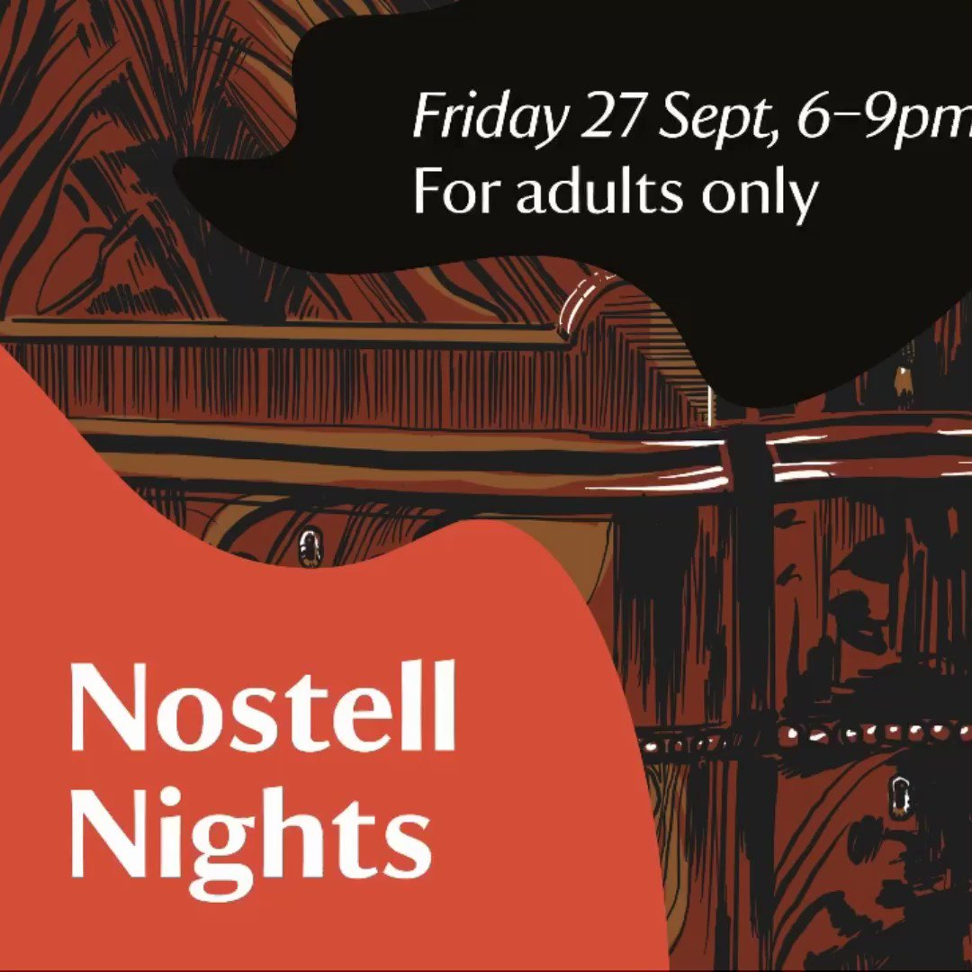 Image for the Tweet beginning: Tonight we are at @NostellNT.