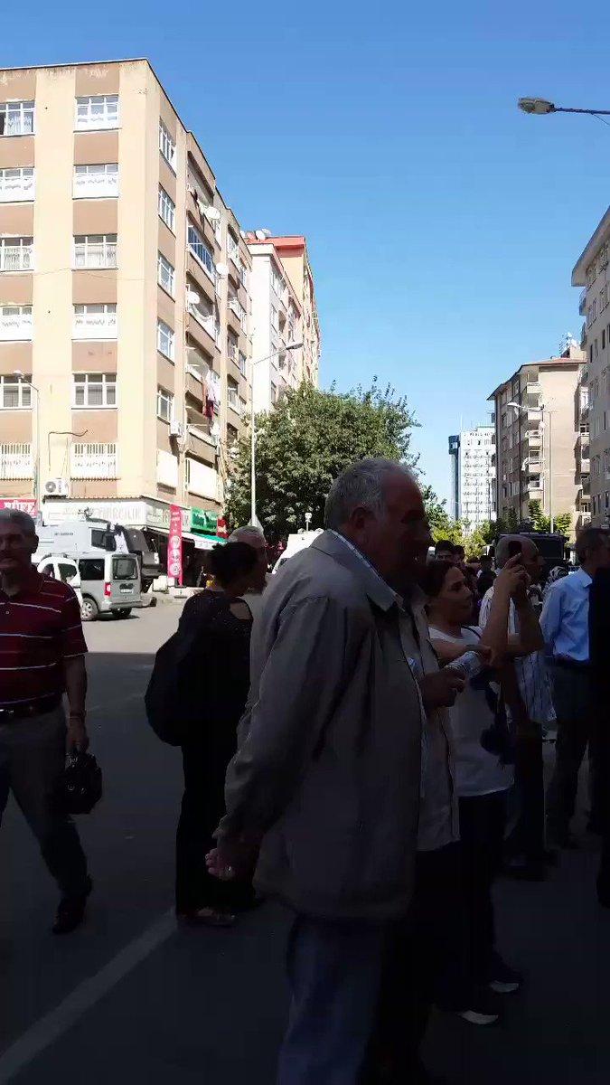 Diyarbakır, HDP direnişi....