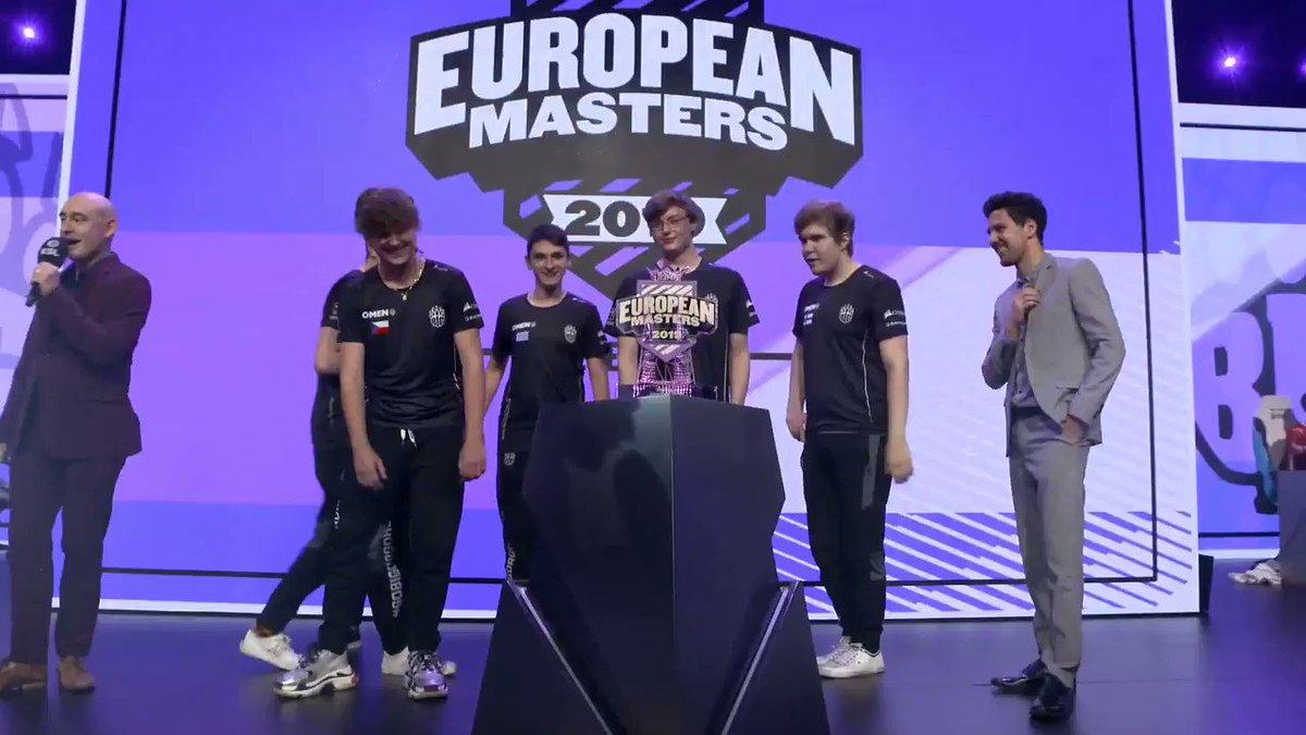 The 2019 #EUMasters Summer Champions: @BIGCLANgg! 🏆