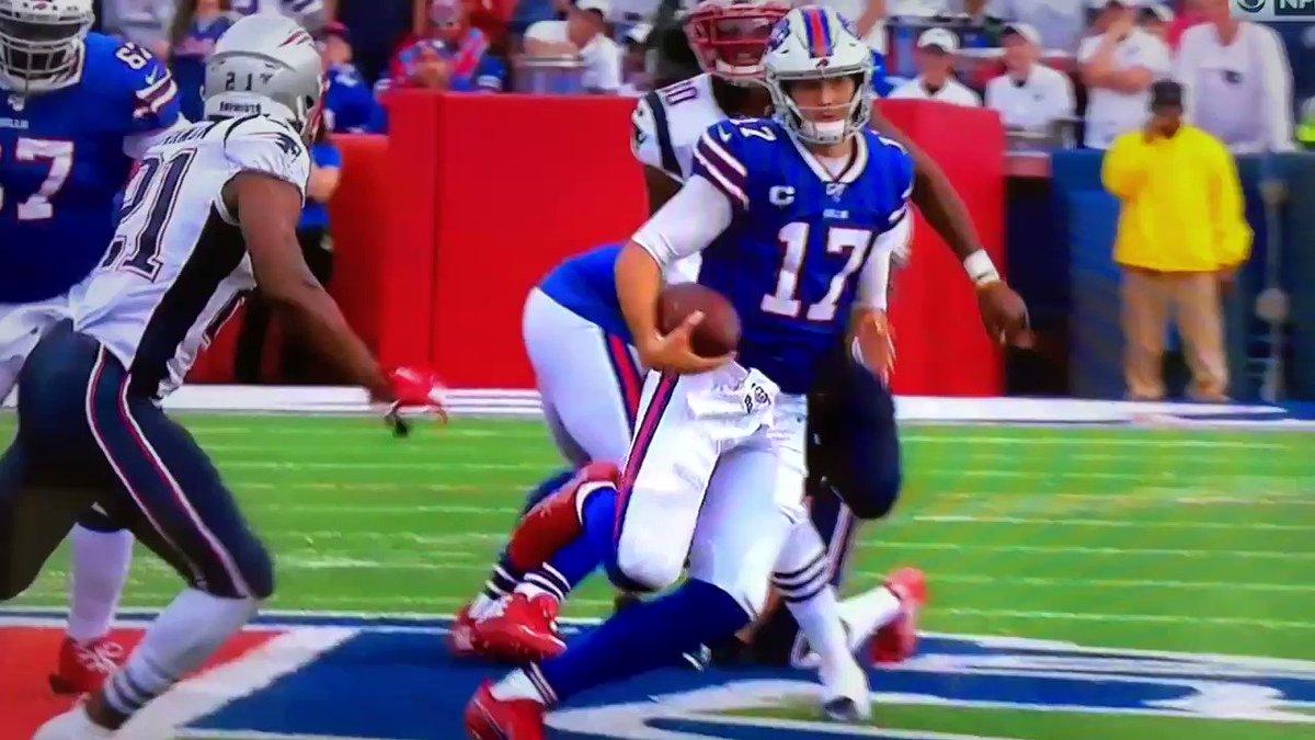 Patriots CB avoids fine for devastating hit that concussed Josh Allen