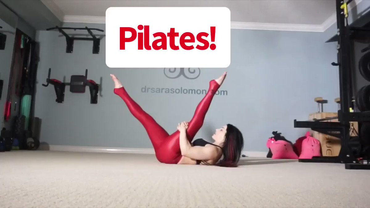 Holla! Brand new to @mystrengthacademy: a 30 minute Classical Pilates class! Here's a 60s clip!  Use code PSOAS to join for 40% off the monthly membership. Code expires at the end of September!! Click here: https://www.drsarasolomon.com/product/strength-academy/…  #pilates #powerpilates #lowbackpainpic.twitter.com/P87jHMYAA0